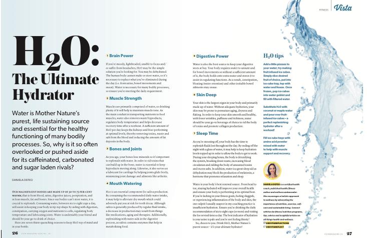 Vista Magazine H20