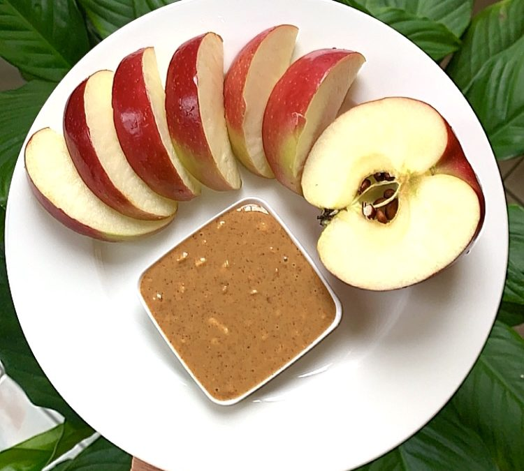 Apple and Peanut Butter, Snack